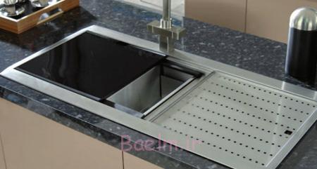 ساخت و خرید سینک های ظرفشویی,طراحی سینک های ظرفشویی مدرن