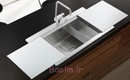 ساخت و خرید سینک های ظرفشویی,مدل های جدید سینک برای آشپزخانه