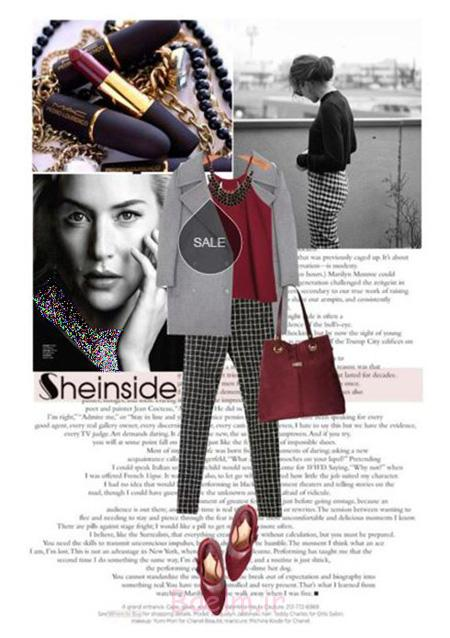 ست لباس به سبک کیت وینسلت, مدل کت و شلوار زنانه