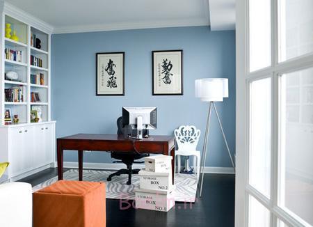 دکوراسیون آبی خانه,نحوه چیدمان خانه به رنگ آبی