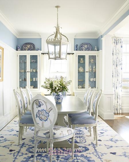 اصول چیدمان خانه به رنگ آبی,طراحی خانه به رنگ آبی