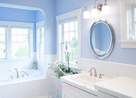 طراحی خانه به رنگ آبی,دکوراسیون آبی خانه