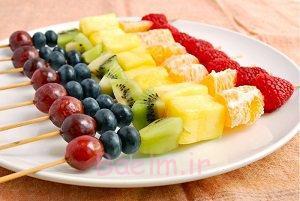کی میوه بخوریم بهتر است بعده وعده غذایی یا قبل آن،کدام؟