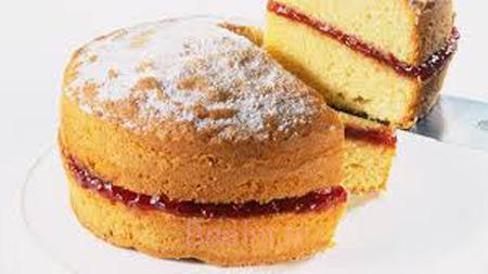 دستور پخت کیک اسفنجی,اموزش کیک اسفنجی,روش پخت کیک اسفنجی