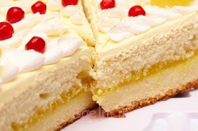 اموزش کیک اسفنجی,نکته های کیک اسفنجی,تزیین کیک اسفنجی
