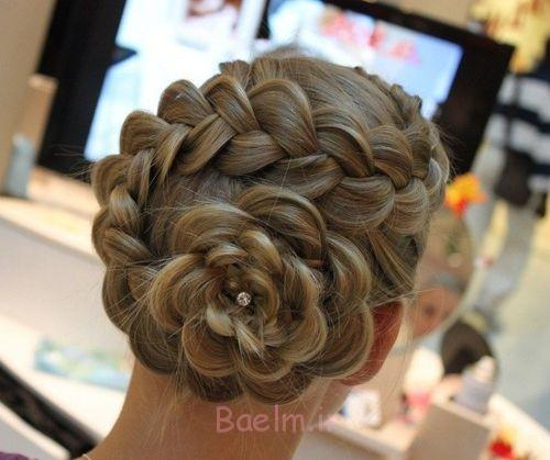 15+ Lovely Flower Hairstyles 2016 5