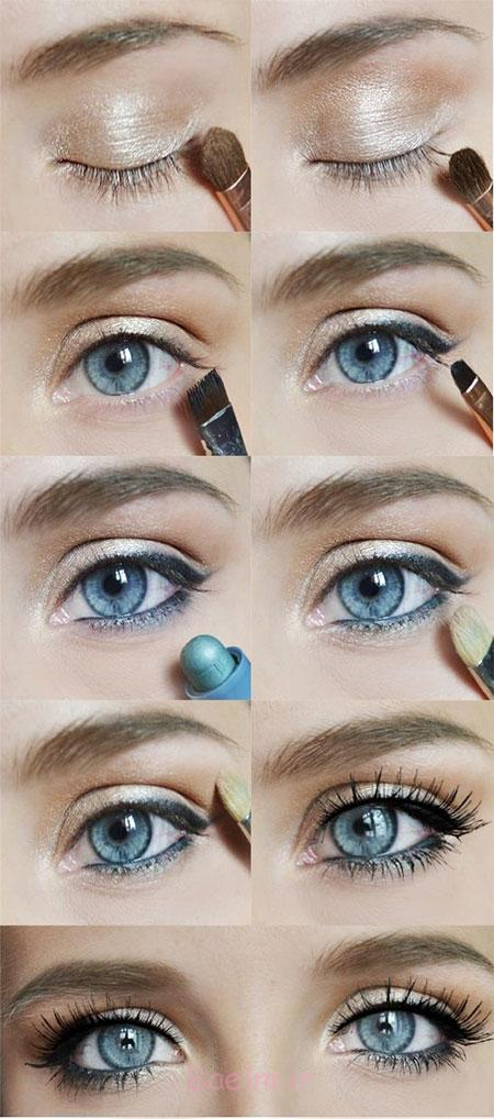 Easy-Step-By-Step-Christmas-Make-Up-Tutorials-For-Beginners-Learners-2014-6