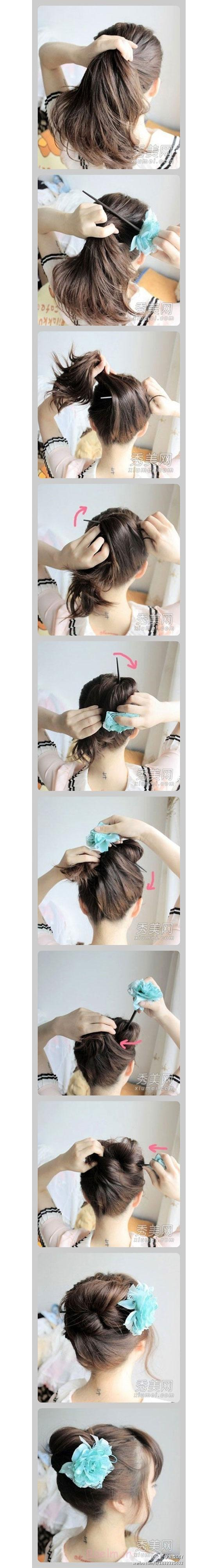 Inspiring-Christmas-Hairstyle-Tutorial-Ideas-2012-For-Girls-1
