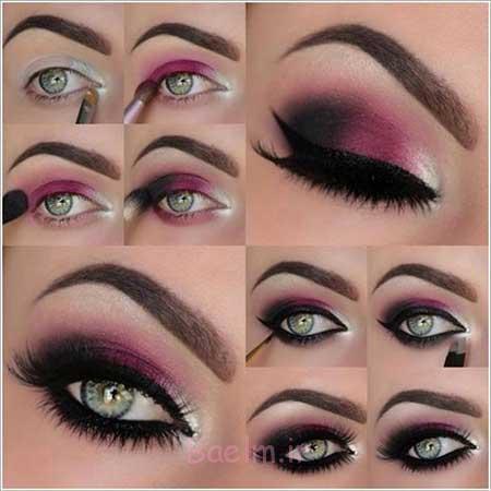 آموزش آرایش چشم جدید