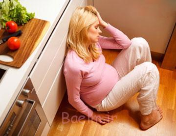 تغییر خلق و خو در بارداری,علت افسردگی در بارداری