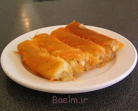 طرزپخت شیرینی ترکیه ای, طرز تهیه کونفه کاداییف
