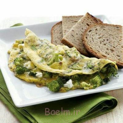 پخت تخم مرغ و کلم بروکلی رژیمی, مواد لازم برای تخم مرغ و کلم بروکلی رژیمی