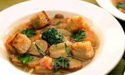 آموزش غذاهای رژیمی   درست کردن سوپ بدون گوشت و کاملا گیاهی (مخصوص گیاهخواران)