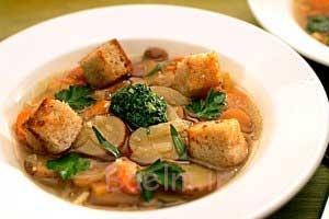 سوپ ایتالیایی کاملا گیاهی !