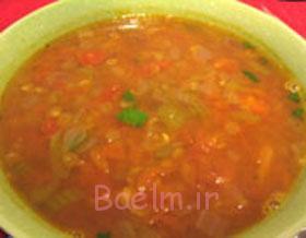 پخت سوپ حریره,پخت سوپ حریره برای افطار