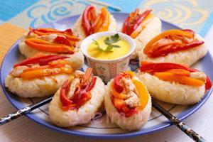 آشپزی,برنج لقمهای غذایی مقوی برای سحری