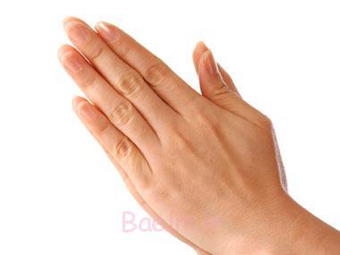 لرزش دست,خشکی پوست دست,دست