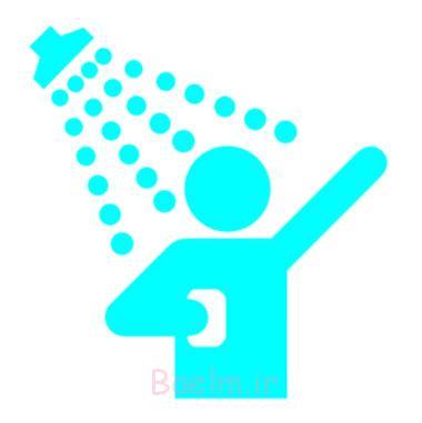 حمام کردن روزانه,عوارض زیاد حمام کردن,حمام کردن