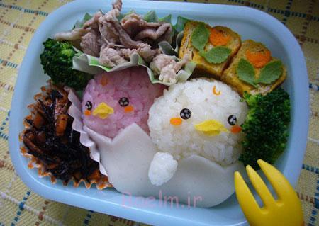 مدل های تزیین غذای کودک, نمونه های تزیین غذای کودک