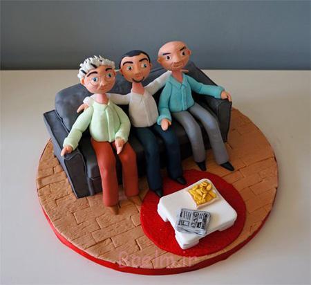 تزیین کیک روز پدر,مدل های کیک روز پدر