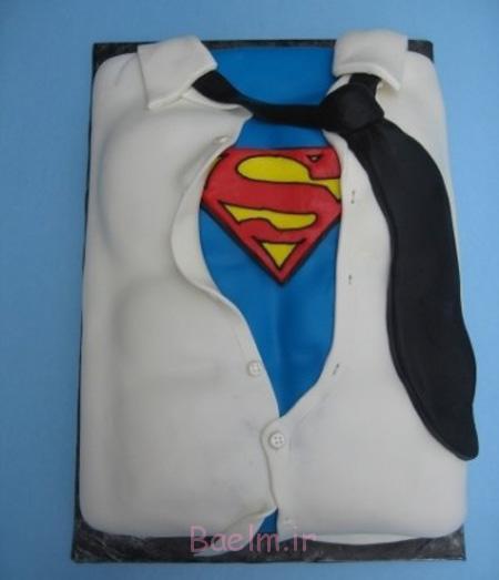نحوه درست کردن کیک روز پدر, تزیین کیک روز پدر