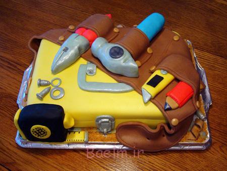 کیک روز پدر,نحوه درست کردن کیک روز پدر