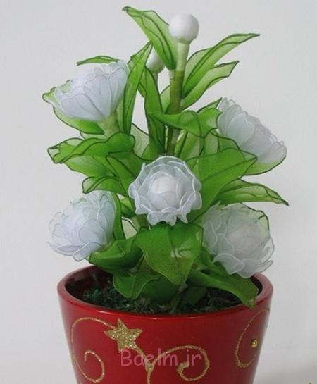 درست کردن گل لیلوم با جوراب, ساخت گل با جوراب کهنه