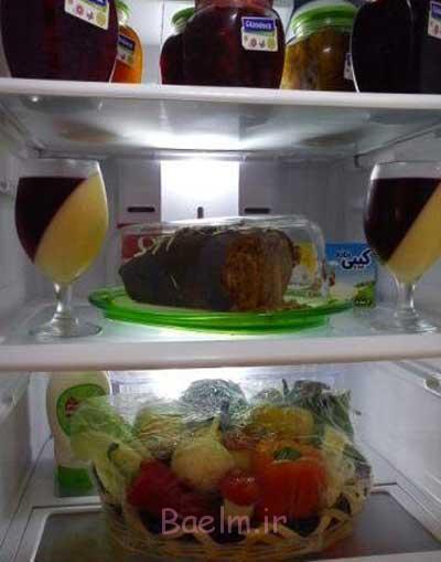 تزیینات یخچال عروس, تزیینات داخل یخچال عروس