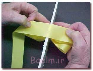 آموزش پاپیون برای تزئین کادو