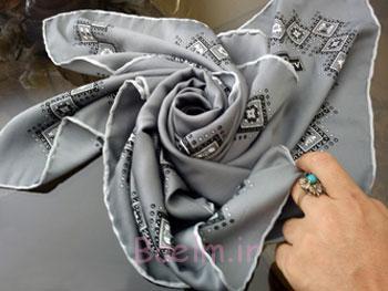 تزیین روسری,تزیین خونچه عروس