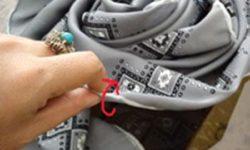 آموزش تصویری | عکسهایی از درست کردن روسری عروس به شکل گل رز