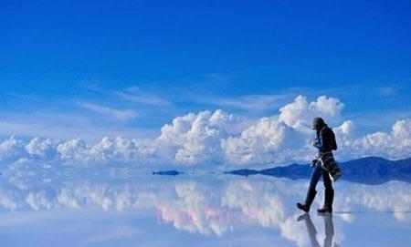 بزرگترین دریاچه نمک دنیا