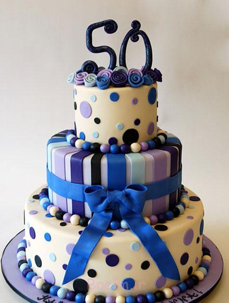 کیک های تولد 2016, کیک تولد بچه گانه