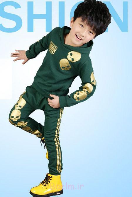 مدل لباس پسرانه, مدل لباس بچه گانه