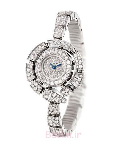ساعت های الماس زنانه,زیباترین ساعت های الماس زنانه