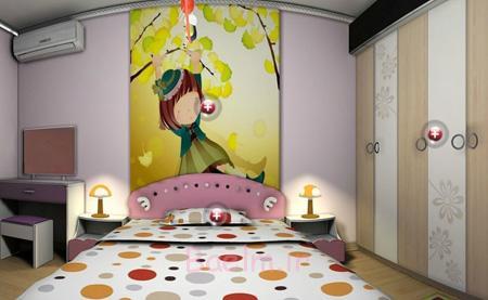 دکوراسیون داخلی اتاق کودک, تکنیک و اصول چیدمان اتاق خواب کودک