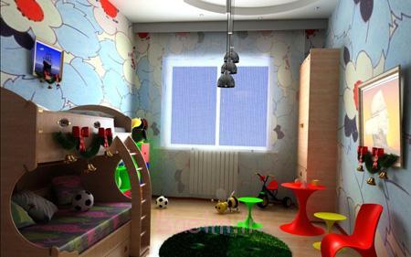 دکوراسیون و چیدمان اتاق خواب کودک, چیدمان و دکوراسیون اتاق کودک