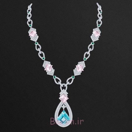 جدیدترین گردنبندهای جواهر, گوشواره های جواهر Louis Vuitton