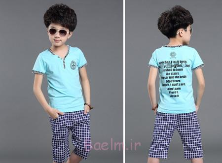 مدل بلوز و شرت پسرانه,مدل لباس تابستانی