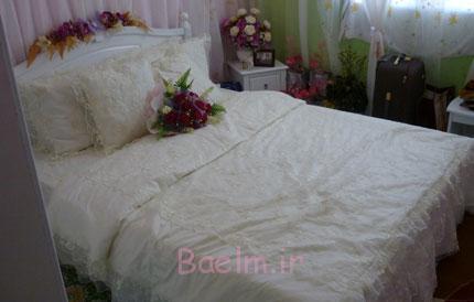 تزیین اتاق عروس, اتاق عروس, تزیین تختخواب عروس