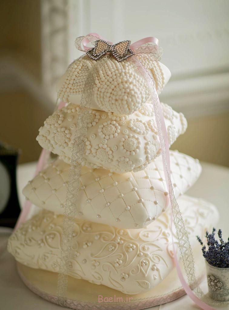 بالش کیک-با-روبان