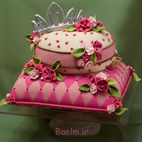 صورتی از عروسی کیک-16