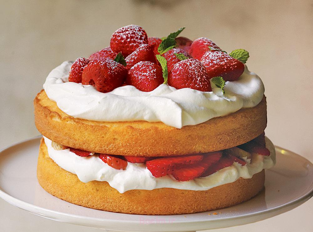 توت فرنگی کیک-1