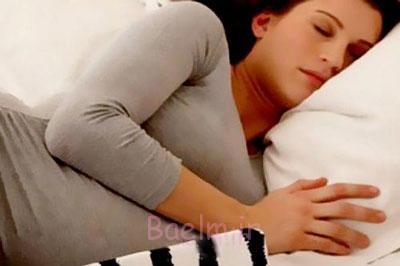 درمان بی خوابی بارداری،خوابیدن در باردرای