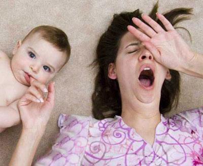 درمان بی خوابی بعد زایمان, درمان بی خوابی پس زایمان