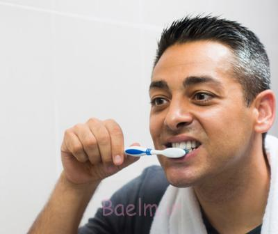 آبسه دندان,علل آبسه دندان,مسواک زدن