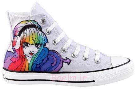 صحبت-همه ستاره-سلام رنگین کمان ورزشی-shoe-