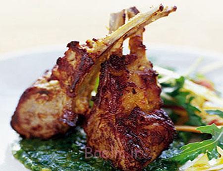 نحوه پخت دنده بره,روش تهیه گوشت بره با ادویه هندی