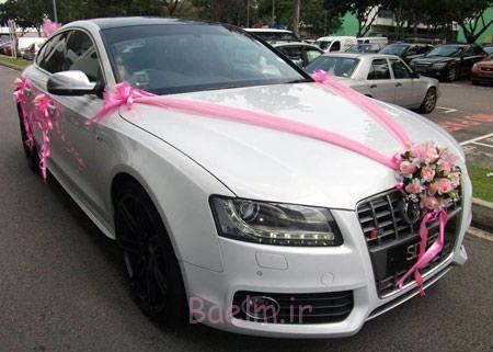 تزیین ماشین عروس ایرانی,مدل ماشین عروس
