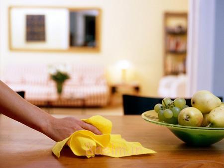 از بین بردن لکه های کابینت ام دی اف, مراحل تمیز کردن کابینت های ام دی اف